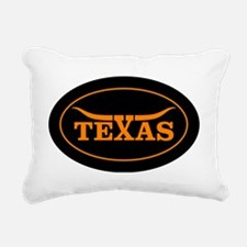 TEXAS Rectangular Canvas Pillow