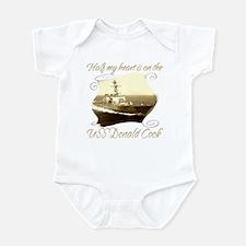 Cute Uss cook Infant Bodysuit