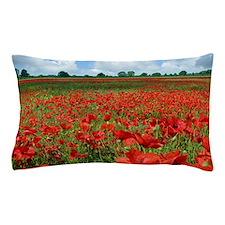 Poppy Fields Pillow Case