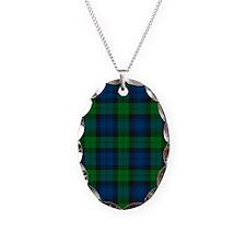 Black Watch Tartan Plaid Necklace