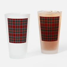 MacDonald Clan Scottish Tartan Drinking Glass