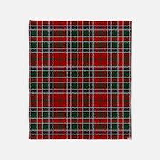 MacDonald Clan Scottish Tartan Throw Blanket