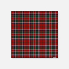 "MacDonald Clan Scottish Tar Square Sticker 3"" x 3"""