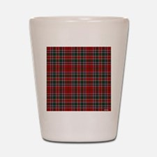 MacDonald Clan Scottish Tartan Shot Glass