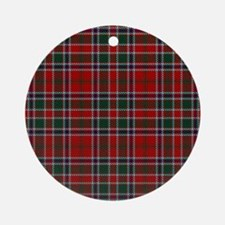 MacDonald Clan Scottish Tartan Round Ornament