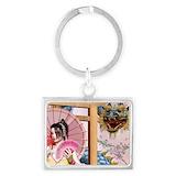 Geisha messenger bags Keychains