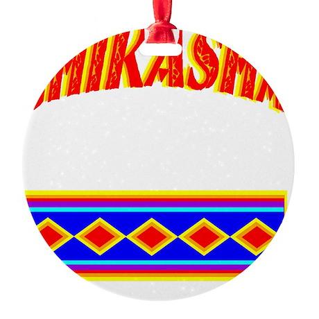 CHIKASHA Round Ornament