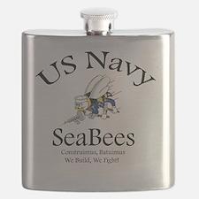 SeaBee Shirt Photo Flask