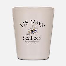 SeaBee Shirt Photo Shot Glass