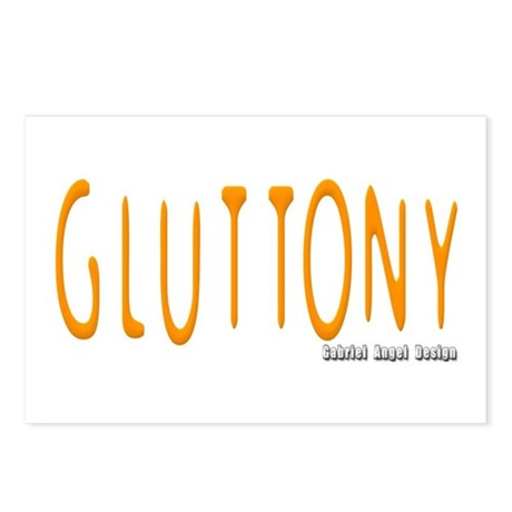 Gluttony Logo Postcards (Package of 8)