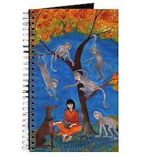 Puzzled Monkey Tree Journal