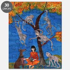 d monkey tree Puzzle