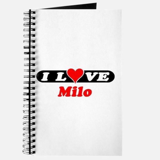I Love Milo Journal