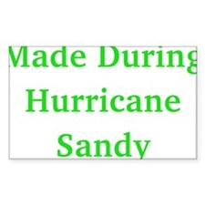 Made During Hurricane Sandy Decal
