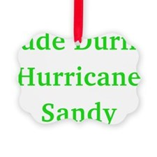 Made During Hurricane Sandy Ornament
