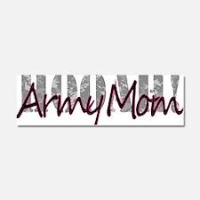 Army Mom Car Magnet 10 x 3