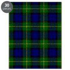 Gordon Scottish Tartan Puzzle
