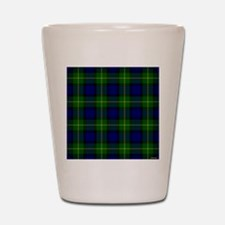 Gordon Scottish Tartan Shot Glass