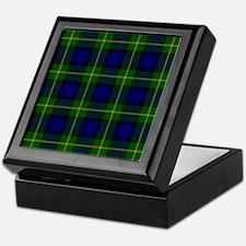 Gordon Scottish Tartan Keepsake Box