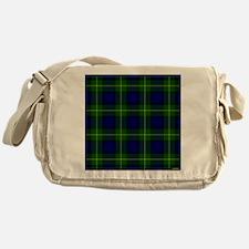 Gordon Scottish Tartan Messenger Bag
