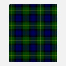 Gordon Scottish Tartan Throw Blanket