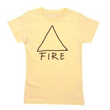 Alchemical symbol for fire - One of the Girl's Tee