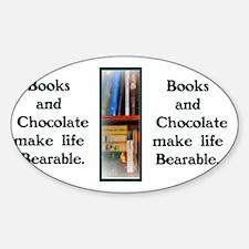 Books  Chocolate Decal