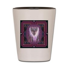 Winged Heart Mandala Shot Glass