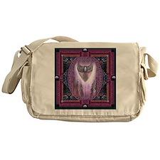 Winged Heart Mandala Messenger Bag