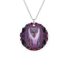 Winged Heart Mandala Necklace
