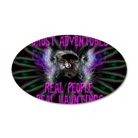 Ghost Adventures 35x21 Oval Wall Decal