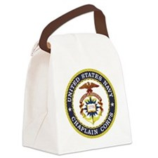 US Navy Chaplain Canvas Lunch Bag