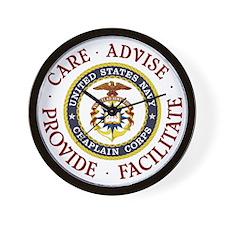Care Advise Provide Facilitate Wall Clock