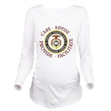 Care Advise Provide  Long Sleeve Maternity T-Shirt