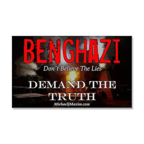 Benghazi Yard Sign Demand The T Car Magnet 20 x 12