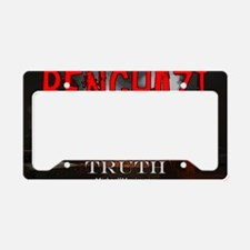 Benghazi Yard Sign Demand The License Plate Holder
