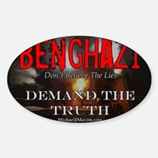 Benghazi Yard Sign Demand The Truth Decal