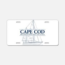 Cape Cod - Aluminum License Plate
