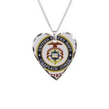 Retired US Navy Chaplain Necklace