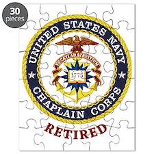 Retired US Navy Chaplain Puzzle