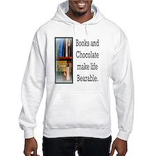 Books and Chocolate Hoodie