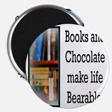 Books and Chocolate Magnet