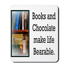 Books and Chocolate Mousepad