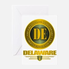 Delaware Gold Label Greeting Card