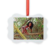 Nicky Blaze Jungle Poster Ornament