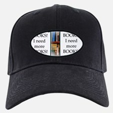 Need More Books! Baseball Hat