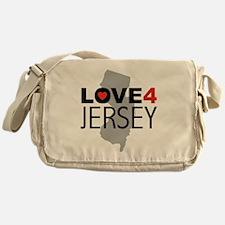 Love 4 Jersey Messenger Bag