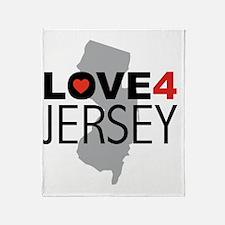 Love 4 Jersey Throw Blanket