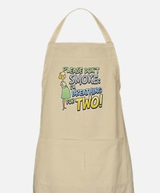 Breathing for Two BBQ Apron