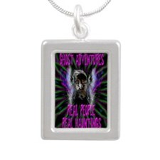 Ghost Adventures Silver Portrait Necklace